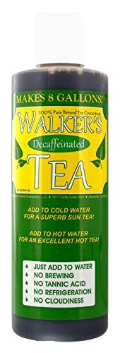 Walker's Tea Liquid Tea Concentrate Decaffeinated 8oz. - Makes 8 Gallons! ()