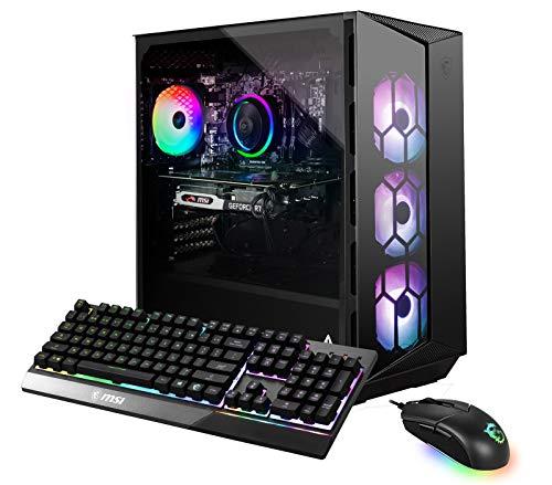 MSI Aegis R 10SC-017US (i7-10700F, 32GB RAM, 512GB SSD + 1TB HDD, RTX2060 Super 8GB, Windows 10) Gaming Desktop