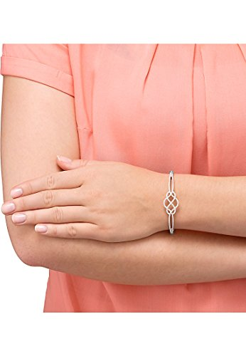 CHRIST silver-bracelet femme-argent 925/1000 rhodié 137-oxyde de zirconium-blanc-taille unique