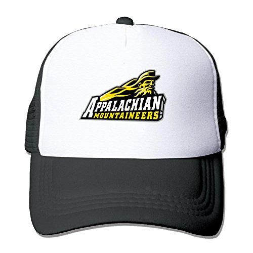 Price comparison product image Unisex mesh baseball cap ASU Appalachian State University Trucker Hat (5 colours)