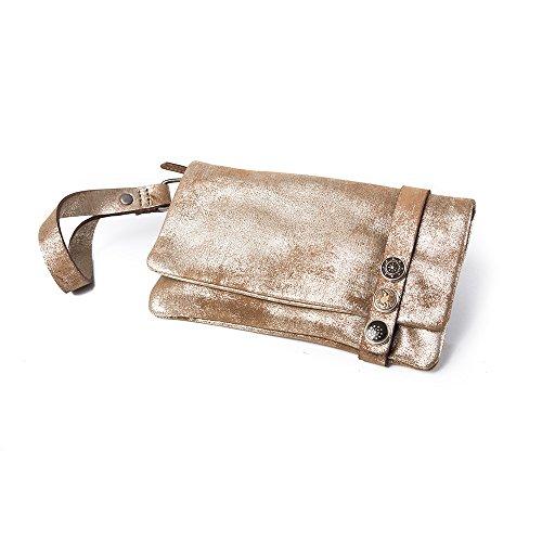 Noosa Bag Handtasche Classic Clutch Lumus brown shimmer