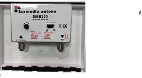 Amplificador mastil profesional HD 1 entrada UHF 30DB + LTE ...