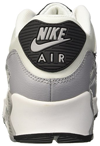 90 Air Black Max Grey Nike Donna Wolf Scarpe Sportive White Essential Wmns Bianco tfx5HBw