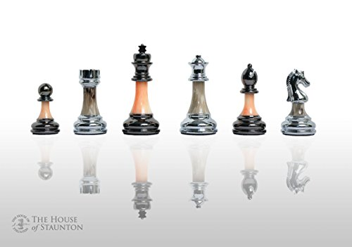 The House of Staunton The Contemporary Chess Series - Pieces Only - 3.5