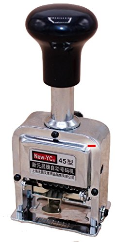 Numbering Machine 7 Wheels (SUKRAGRAHA Automatic Numbering Machine 7 Digits Stamp)