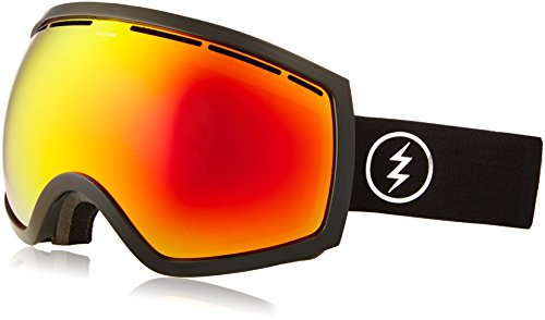 Electric Eg2 Snow Goggles - Electric Visual EG2 Gloss Black/Bronze Red Chrome Snow Goggle
