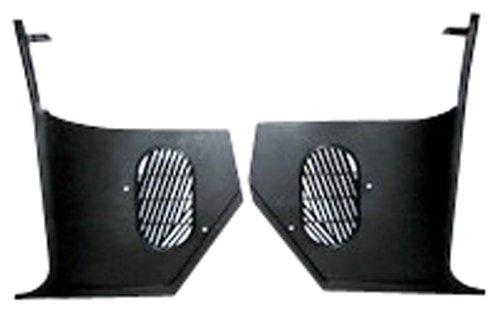 65 66 Chevelle Kick Panels No Air Conditioning Black