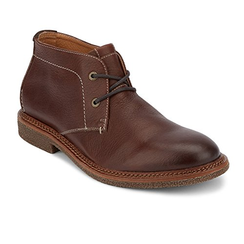 Lucky Brand Men's Mason Chukka Boot, Chocolate Leather, 12 Medium ()