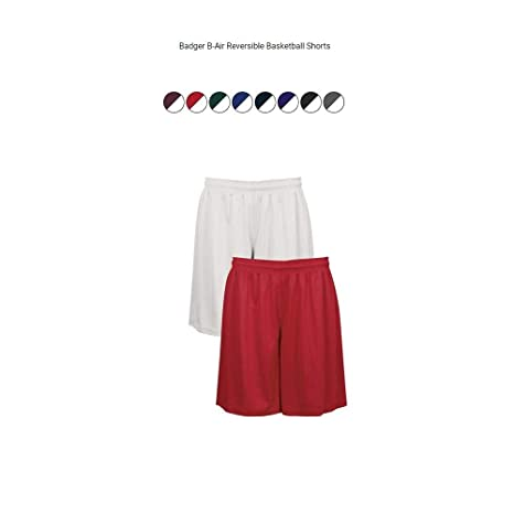 93949b90d Amazon.com   Badger Sport Youth Reversible Basketball Athletic ...