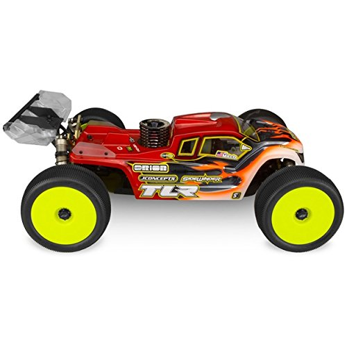 1/8 Finnisher ROAR National Champion, Clear Body: TLR 8 4.0
