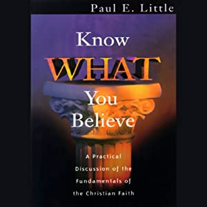 Know What You Believe Hörbuch
