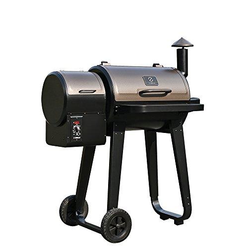 zpg 450a wood pellet smoker
