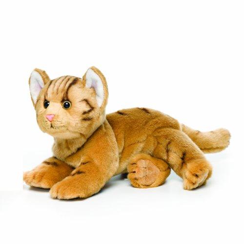 Nat and Jules Orange Tabby Cat Plush Toy, Large