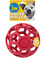 HOL-ee Roller Original Do It All Dog Toy Puzzle Ball, Natural Rubber, Assorted Colors