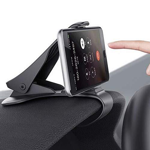 Fastener & Clip Car Phone Holder Dashboard Mount GPS Bracket for Audi A3 A4 A5 A6 A7 A8 B6 B7 B8 C5 C6 TT Q3 Q5 Q7 S3 S4 - (Color Name: Black)