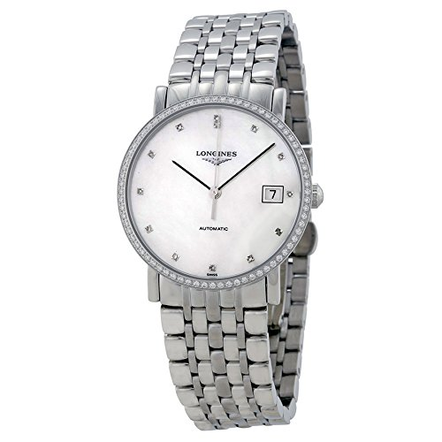 Longines White Dial Stainless Steel Watch L48090876