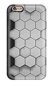 New Cute Funny Gray Honeycomb Pattern Case Cover/ Iphone 6 Case Cover