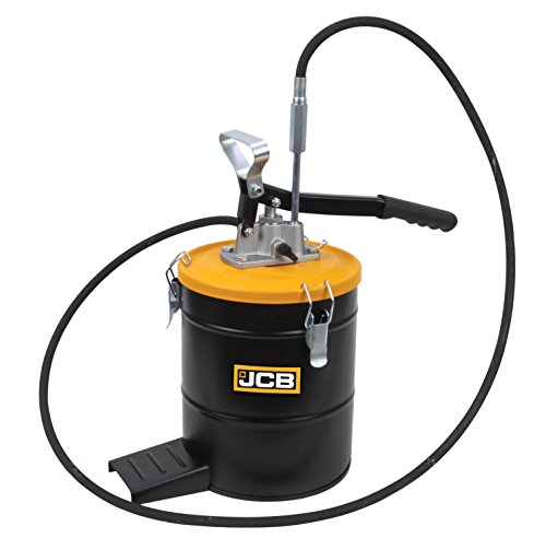 JCB High Pressure Bucket Grease Pump with 8 kg Grease Bucket, 1
