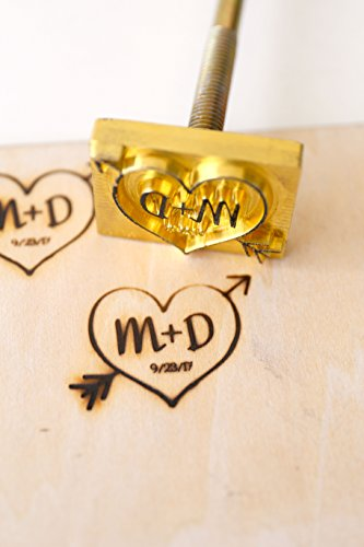 Custom Logo Wood Branding Iron,Durable Leather Branding Iron Stamp - Kit Branding Wood