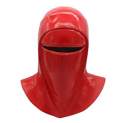 Star Wars Adult Cosplay- Imperial Guard Mask Costume&Imperial red Guard ()