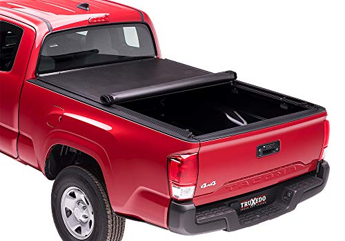 TruXedo-Lo-Pro-Soft-Roll-up-Truck-Bed-Tonneau-Cover-545801-fits-07-19-Toyota-Tundra-wTrack-System-66-Bed