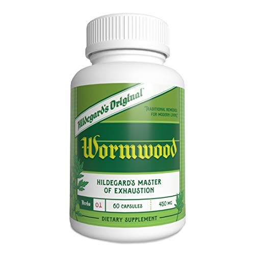 Hildegard's Original Wormwood: Ancient Body Cleanse and Gut Cleanse Supplement to Improve Immune Strength, Energy, and Alertness