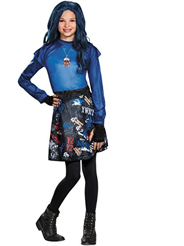 Evie Isle Of The Lost Classic Costume, Medium (7-8) ()