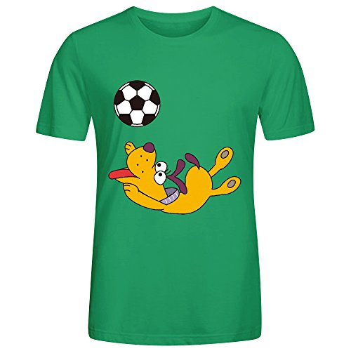dog-playing-with-ball-mens-t-shirts-funny