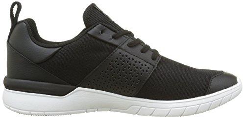 Supra Hommes Ciseaux En Cuir Noir Sneaker Hommes 7, Femmes 8,5 D (m)