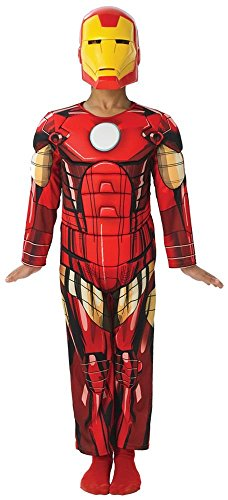 Tony Stark Costume Ideas (Iron Man Boys Costume Movie Marvel Comics Superhero Jumpsuit and)