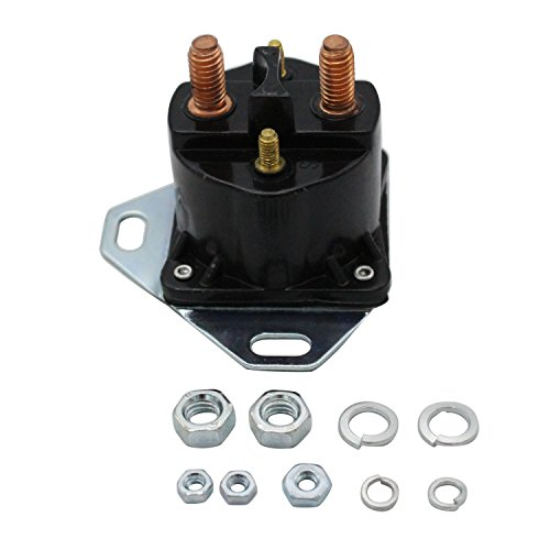 TAKPART Glow Plug Relay Solenoid for 6.9 7.3 Turbo & Non F Series E Series ()