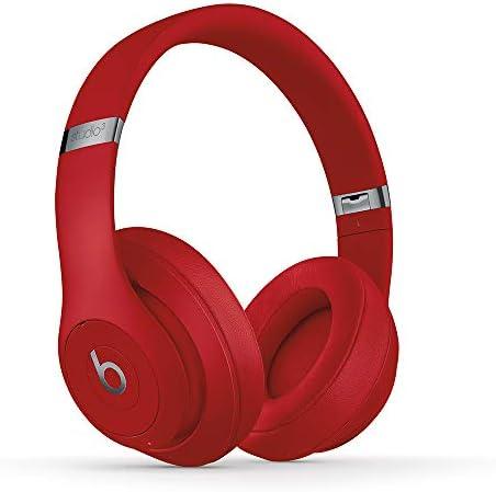 Beats Studio3 Wireless Over?Ear Headphones - Red (Latest Model)