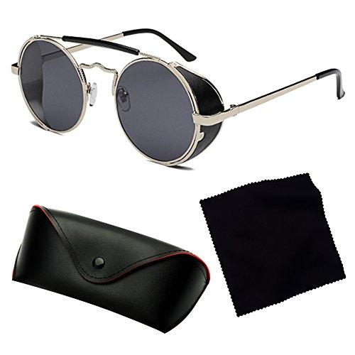 Vintage soleil Yying C6 lunettes métal femmes lunettes rondes hommes rétro de en Oq8OrPA