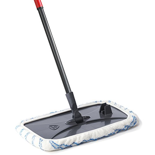 - O-Cedar Hardwood Floor 'N More Microfiber Mop with Telescoping Handle