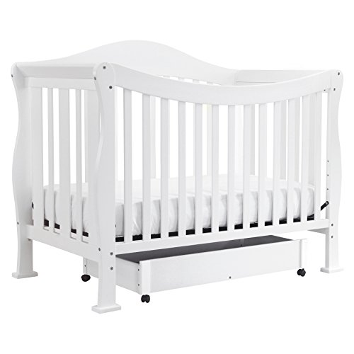 Emily 4in 1 Crib (DaVinci Parker 4-in-1 Convertible Crib with Toddler Rail, Pure)