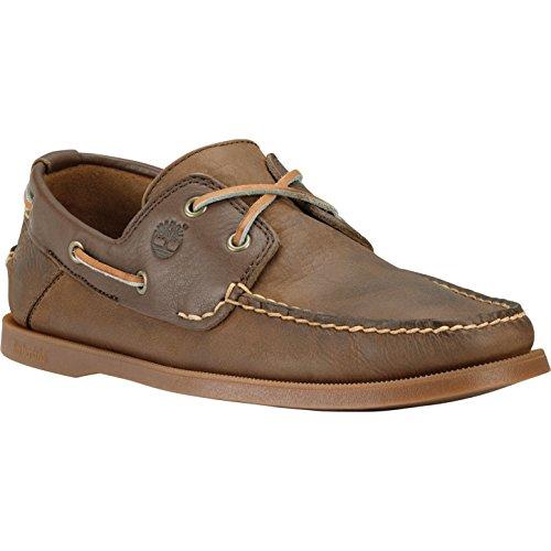 Timberland Earthkeepers Heritage Boat 2 Eye - Zapatos de cuero para hombre DARK BROWN