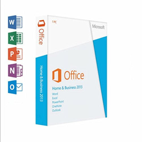 Microsoft, Office Home And Business 2013 Box Pack 1 Pc 32/64-Bit, Medialess  Win English