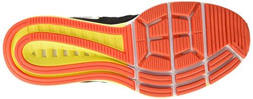 Nike Air Zoom Vomero 10 Scarpe da Ginnastica, Uomo Nero (Black/White-sail-total Crimson-opti Yellow)