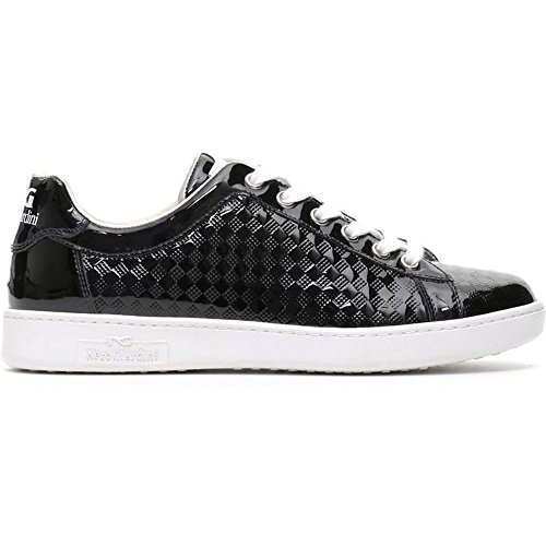 Sneaker Donna Bassa in Vernice Nera P717253D 100 - Nero Giardini