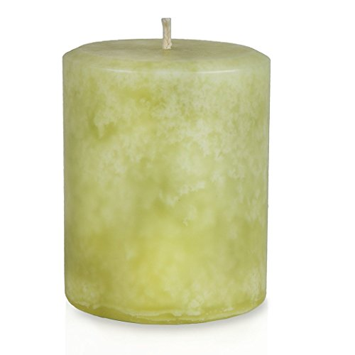 Bayberry Christmas Holiday Pillar Candle - Handmade