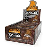 Grenade Carb Killa Protein Chocolate Brownie | 15g High Protein Snack | Low Net Carb Low Sugar | Fudge Meal Replacement | Fudge Brownie and Walnut, 12 Pack