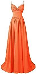 Amazon.com: Orange - Special Occasion / Dresses: Clothing Shoes ...
