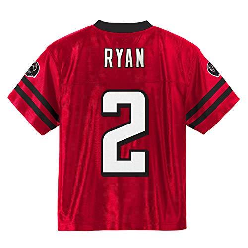Jersey Red Falcons Football Atlanta - Outerstuff Matt Ryan Atlanta Falcons #2 Red Youth Home Player Jersey (Small 8)