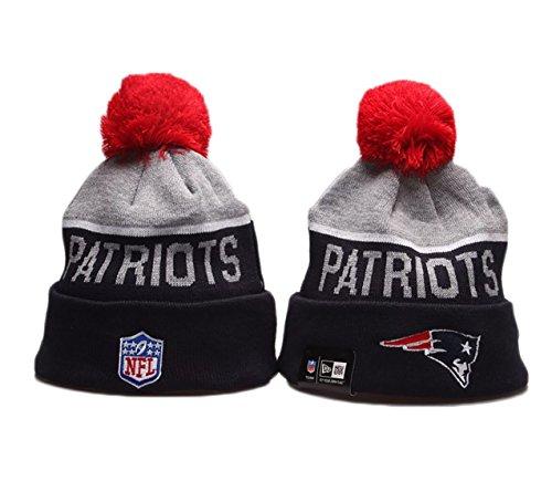 765507f45bb Galleon - New Era New England Patriots NFL Sport Beanie Knit Skull Cap