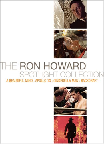 The Ron Howard Spotlight Collection (Backdraft / Apollo 13 / A Beautiful Mind / Cinderella - Max Dior