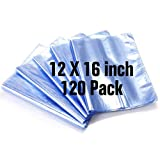 12x16 Inch Shrink Bags,120PCS Shrink Wrap Bag,PVC