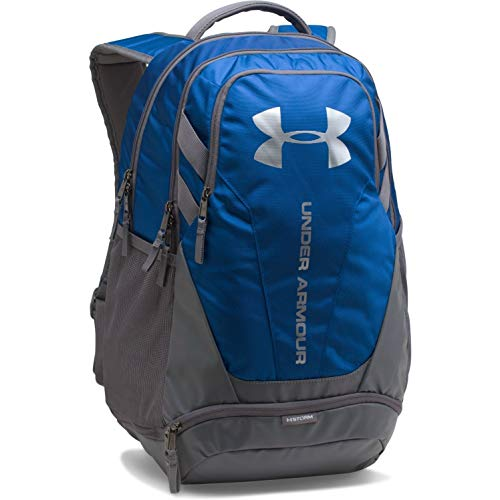 Under Armour Hustle 3.0 Backpack, Royal (400)/Silver, One Size Fits All (Under Armour Womens 3 4 Sleeve)