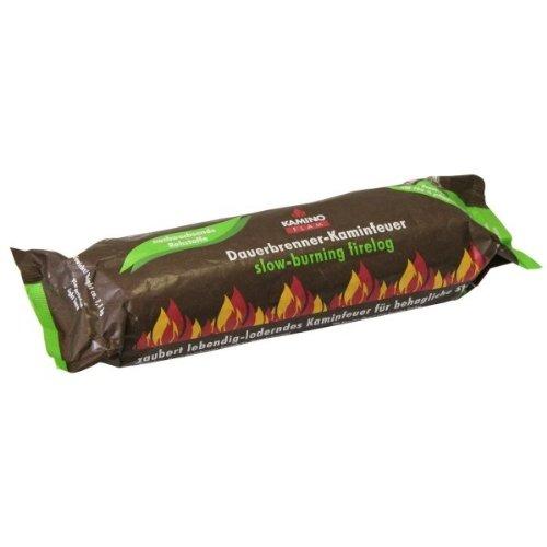 30 Stück KaminoFlam Dauerbrenner-Kaminfeuer, 100% nachwachsende Rohstoffe