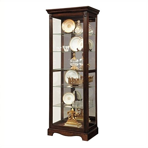 Pulaski Curio, 29 by 20 by (Cherry Glass China Cabinet)