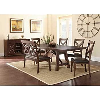 This Item Steve Silver Company Clapton Dining Table 42 X 72 96 30